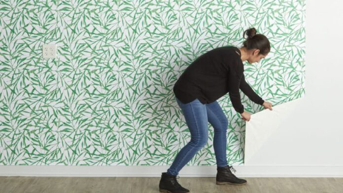 Stick on Removable Wallpaper Makes Home DIY Project a Breeze